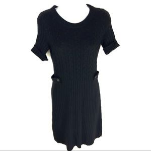 Banana Republic Women's Black Cashmere Dress XS